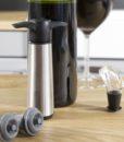 Vacu Vin vinpumpe i stål 3