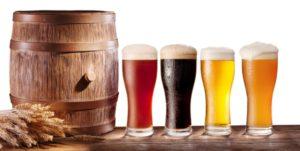 Øl i forskellige farver