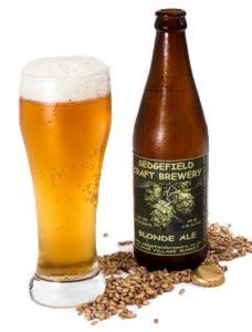 Ølsmagning - her ses en Blonde Ale