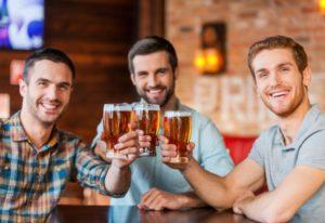 Ølsmagning på bryggeri