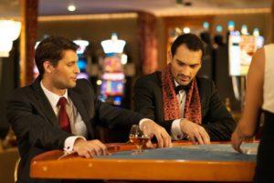 Slut aftenen af på et kasino