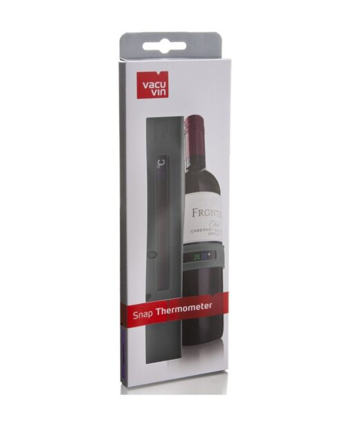Vacu Vin Snap Thermometer Grey