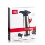 Vacu Vin vinpumpe i stål 1